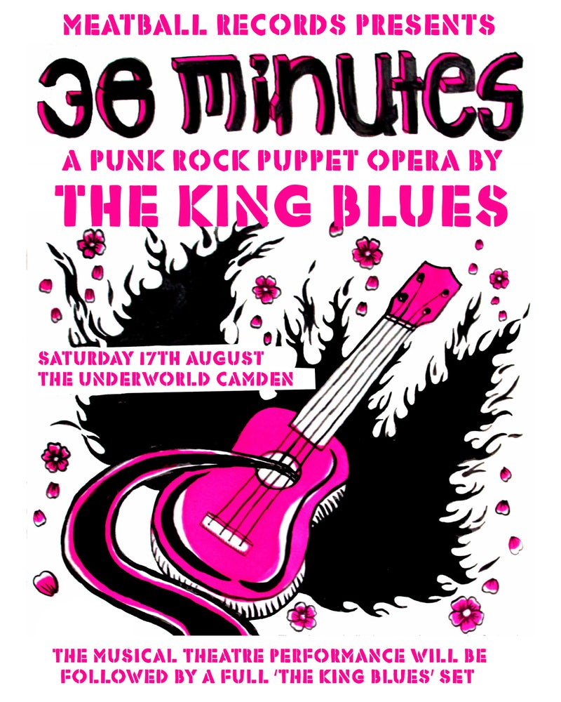 "Image of Ticket to punk puppet opera ""38 Minutes"" at Camden Underworld Sat 17th Aug followed by FULL CONCERT"