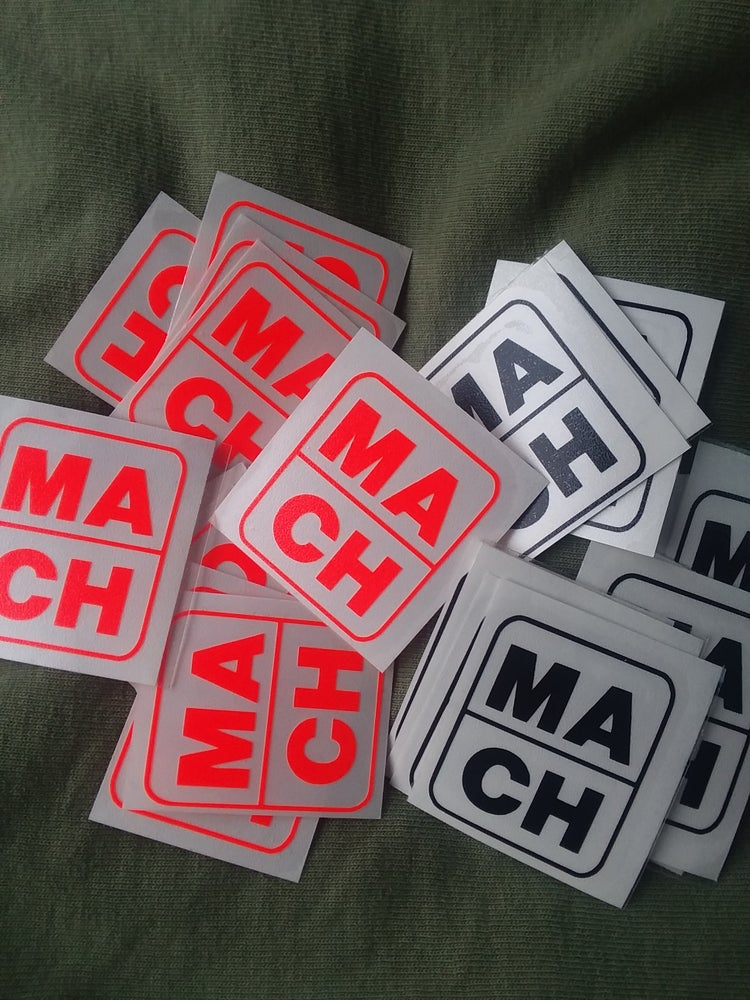 "Image of MA/CH stickers 1""x1"""