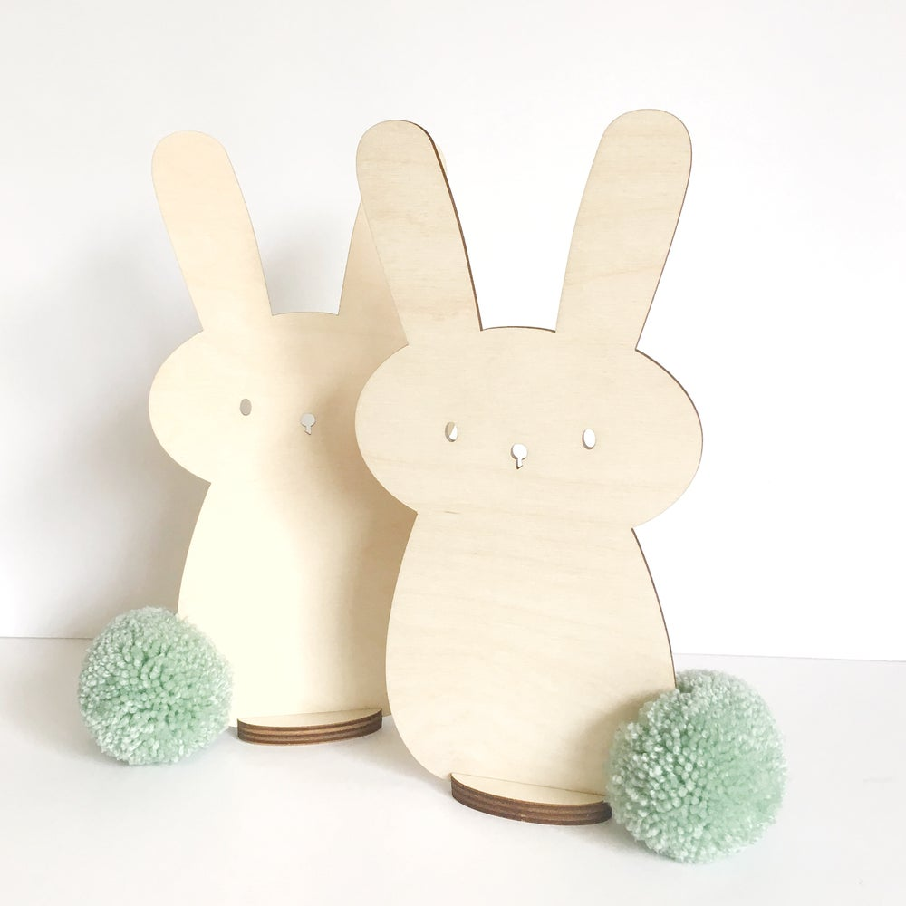 Image of Tall PomPom Bunny