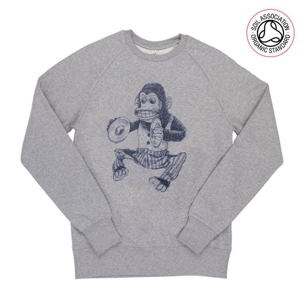 Image of Monkey Grey Sweatshirt (Organic)