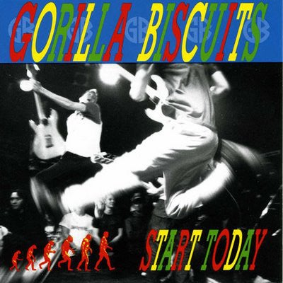 Image of Gorilla Biscuits - Start Today LP