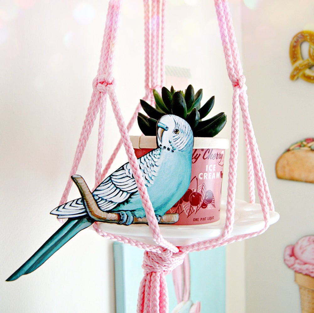 Image of Budgie ornament