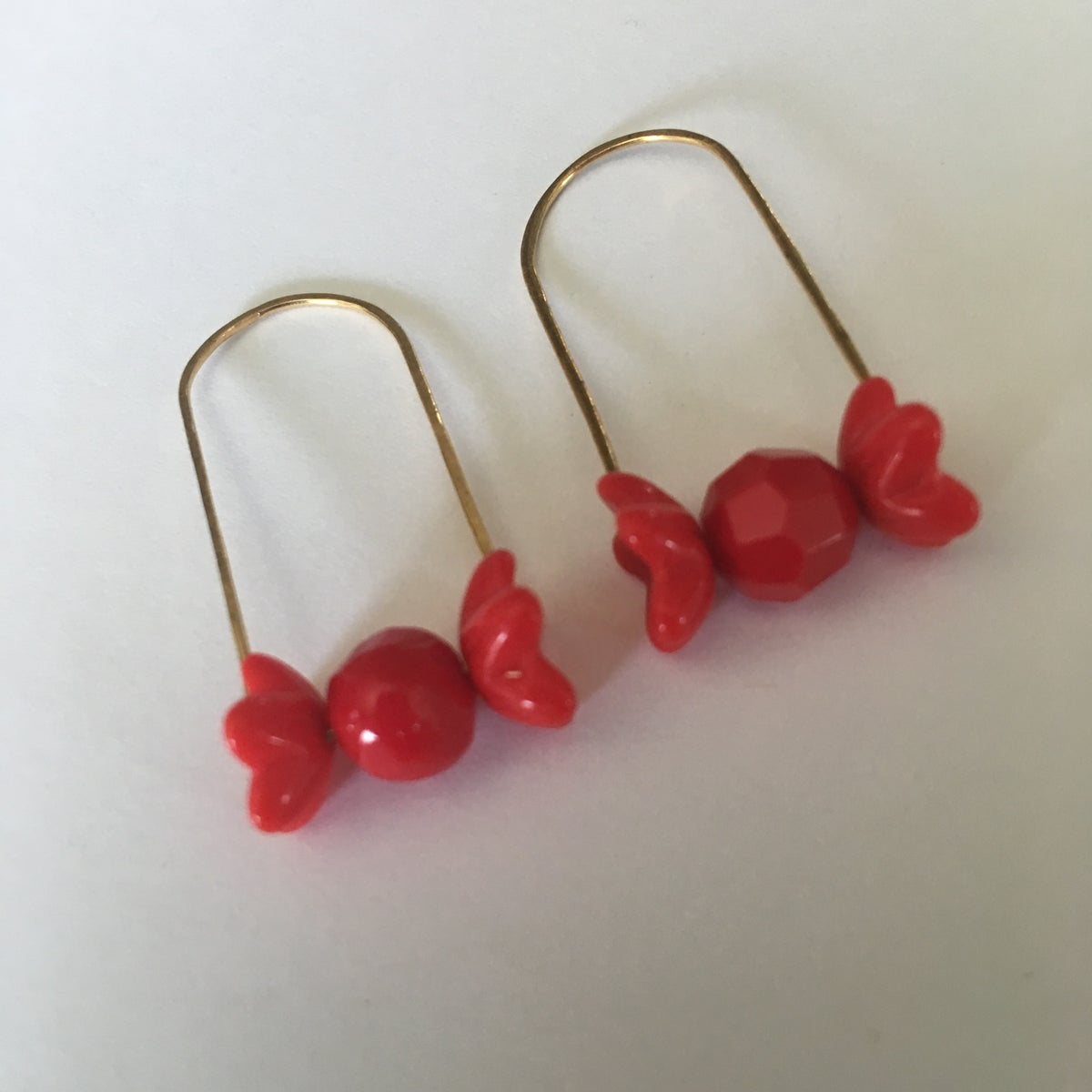 Image of Reddy or Not Earrings