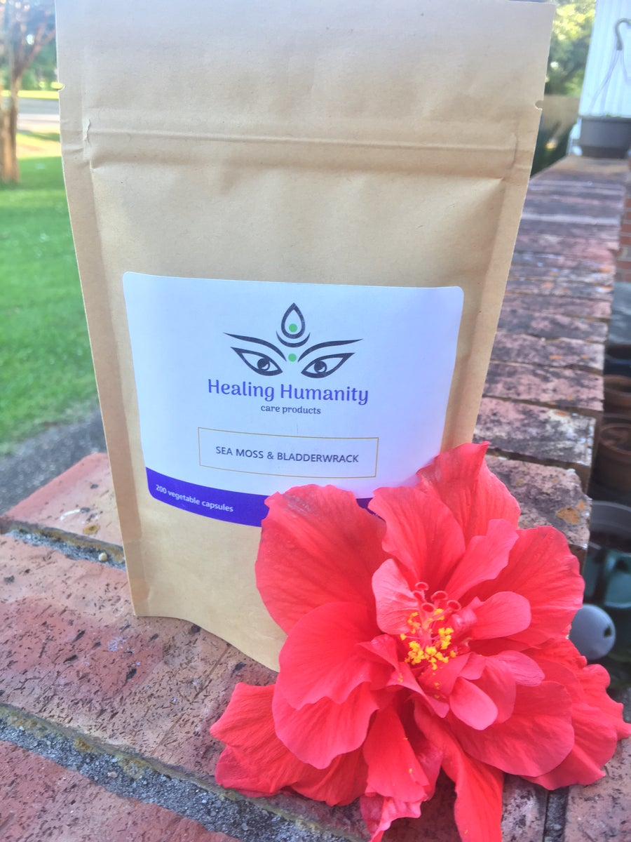 Image of Healing Humanity Seamoss & Bladderwrack Capsules