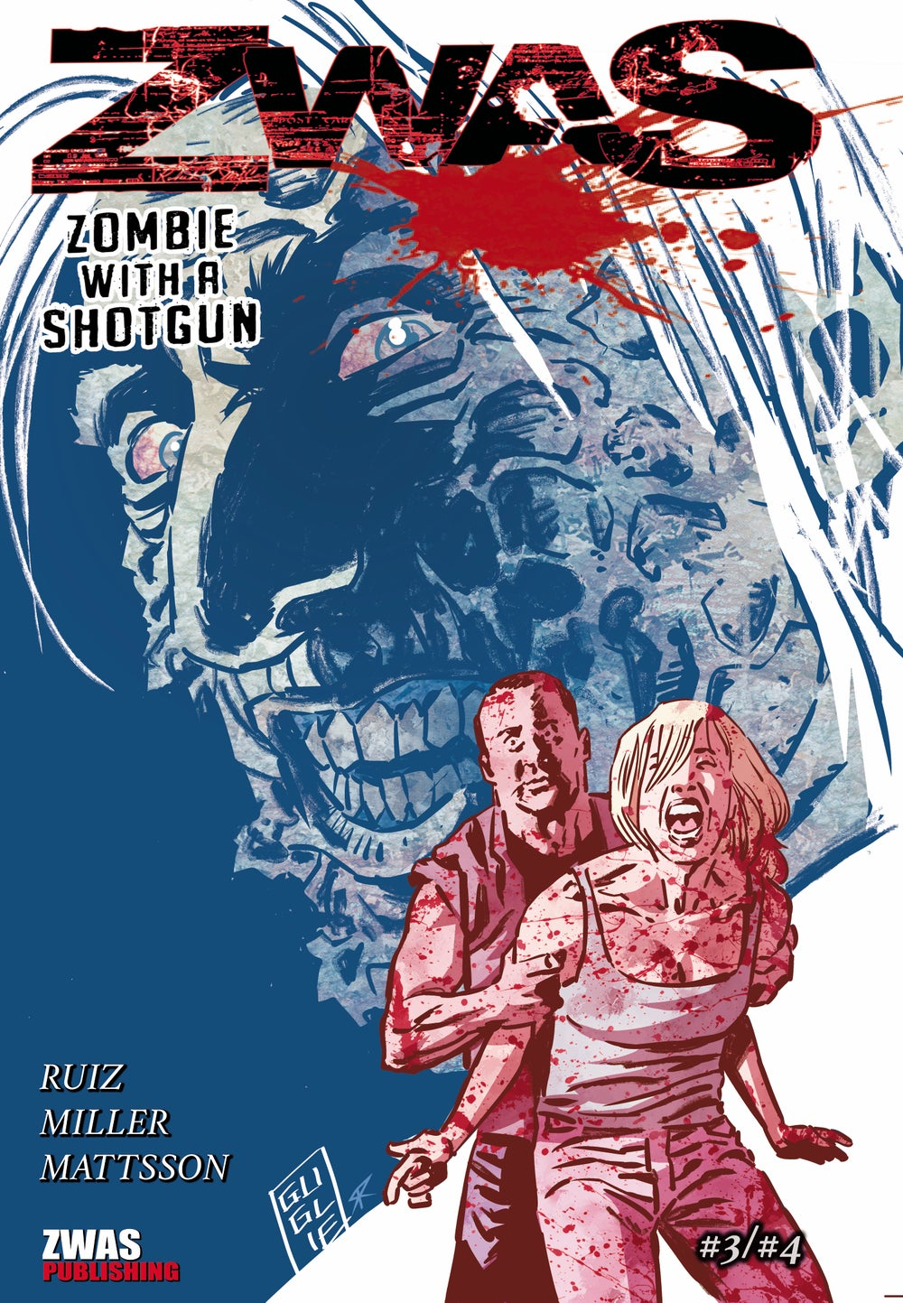 Image of Zombie with a Shotgun Comic Combo Edition with Issue's #3 and #4 in one.