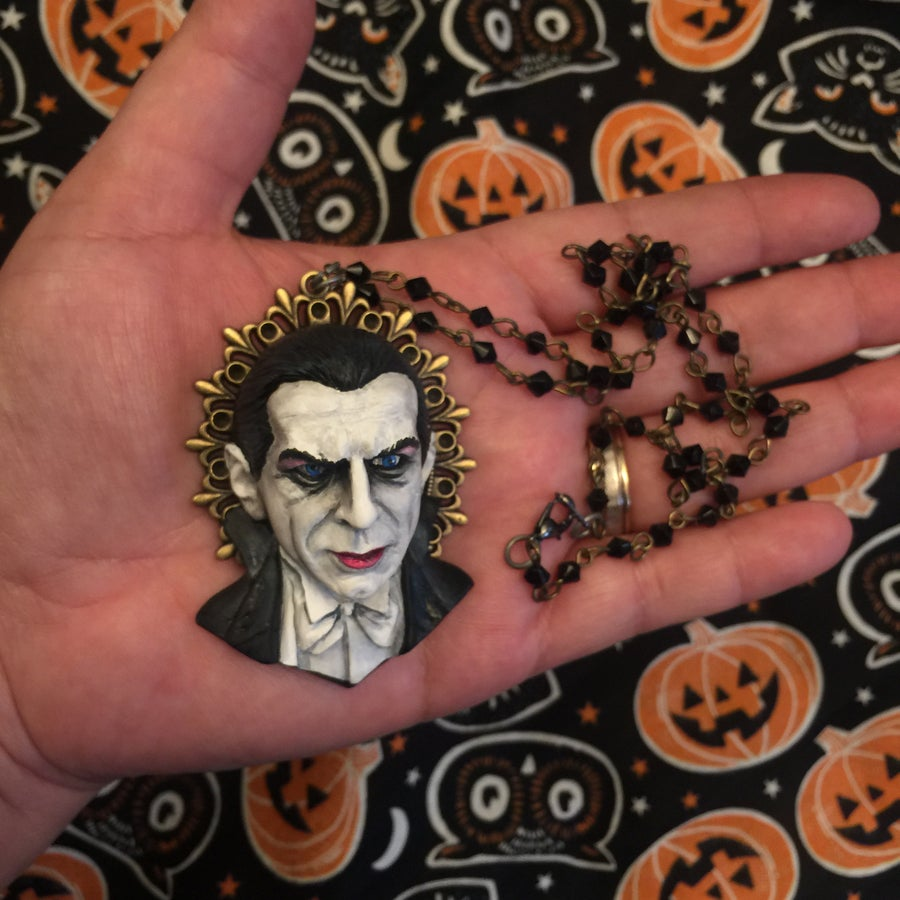 Image of Bela Lugosi Dracula Necklace