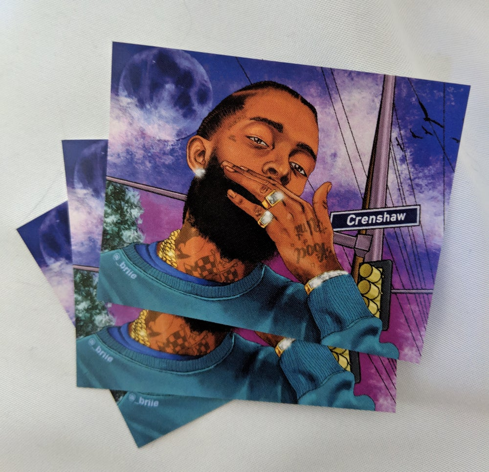 Image of NIPSEY stickers