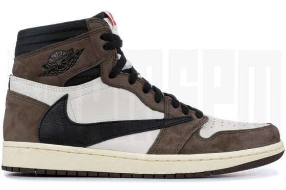 "Image of Nike AIR JORDAN 1 HIGH OG TS SP ""TRAVIS SCOTT"""