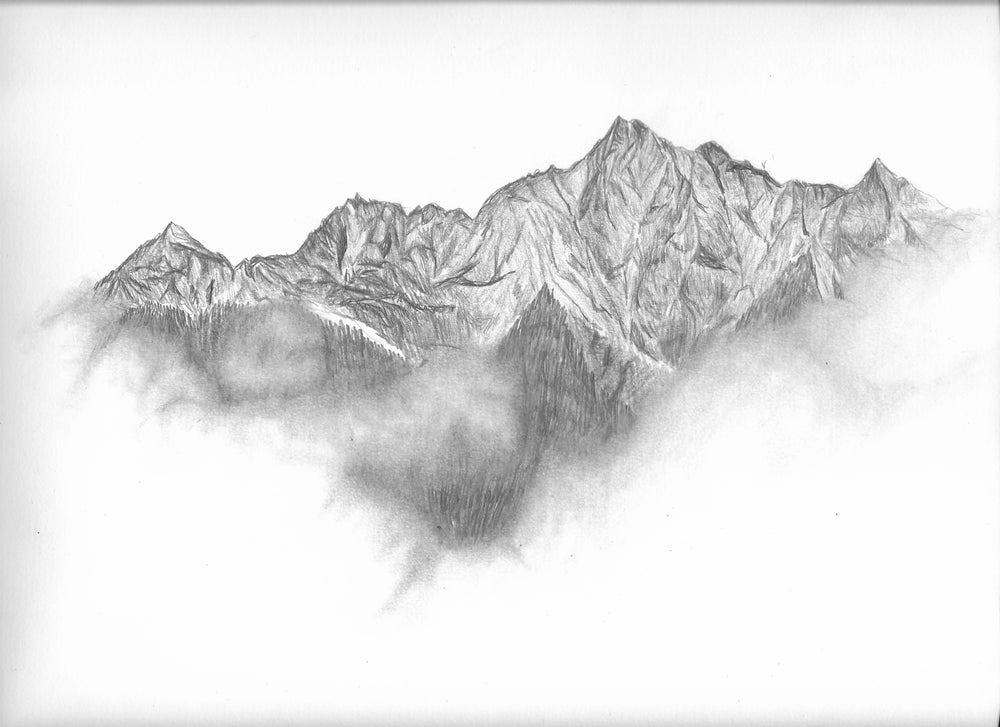 Image of Mountains in the Fog