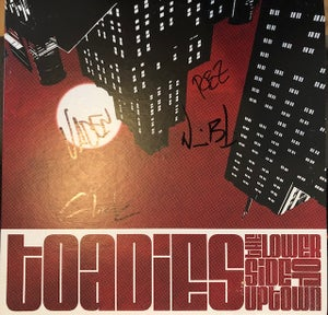 Image of Toadies - Lower Side of Uptown - Signed Cover - Black Vinyl Regular Edition .