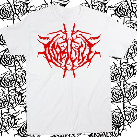 Image of Oolacile Metal Logo Red