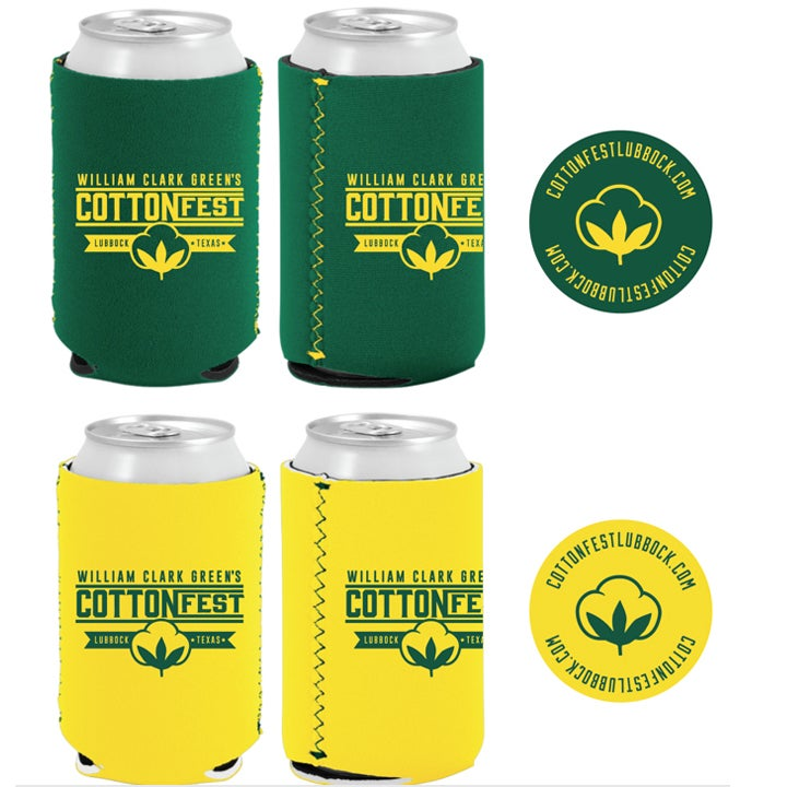 Image of Cotton Fest Koozie