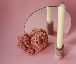 Image of CORAL.LESS vanity mirror PINK