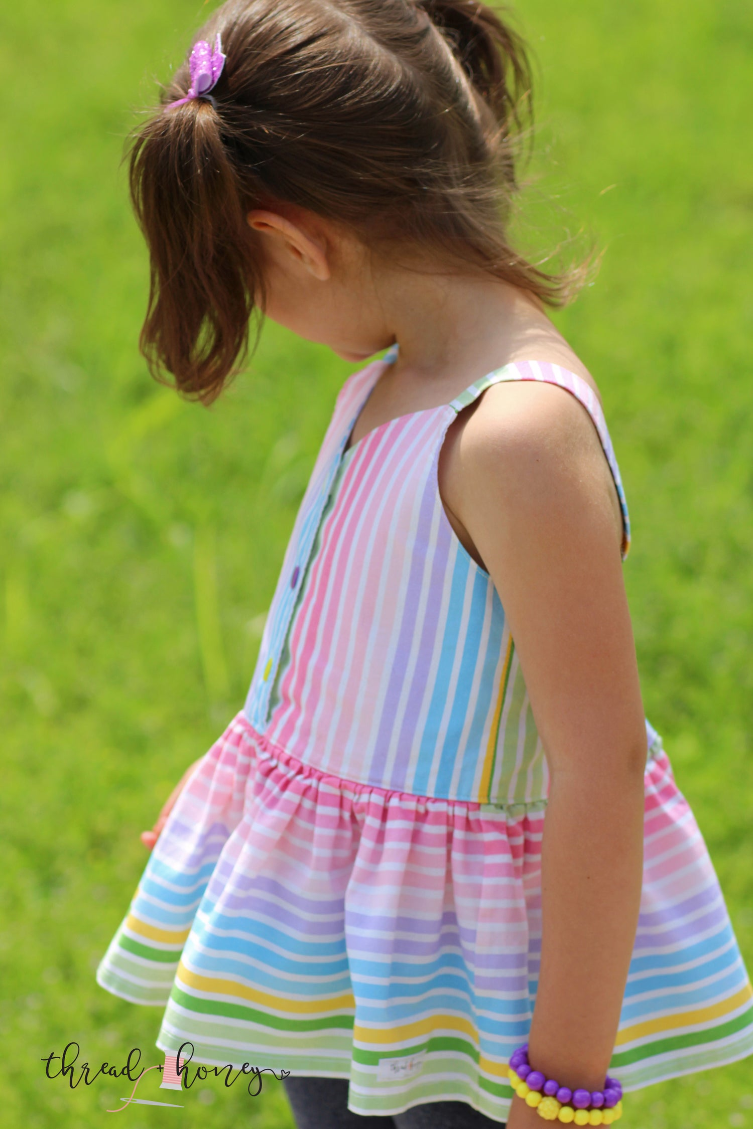 Image of Ombre Rainbow Top/Dress