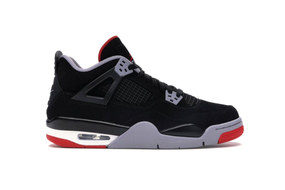Image of Jordan 4 Retro Bred 2019 (GS) 408452-060