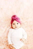 Image 1 of Baby Top Knot Turban Style Headwrap Pattern