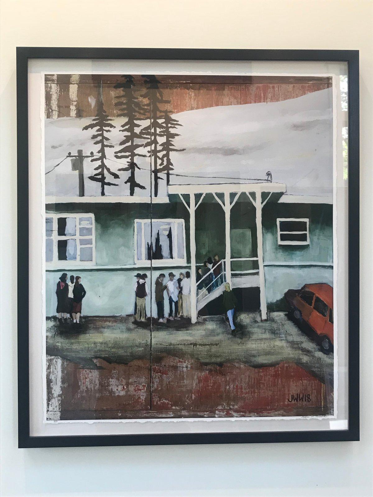 "Image of ""14 Kids"" Framed Limited Edition Print"