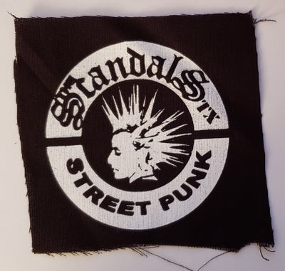 Image of The Scandals TX - Street Punk patch - DIY