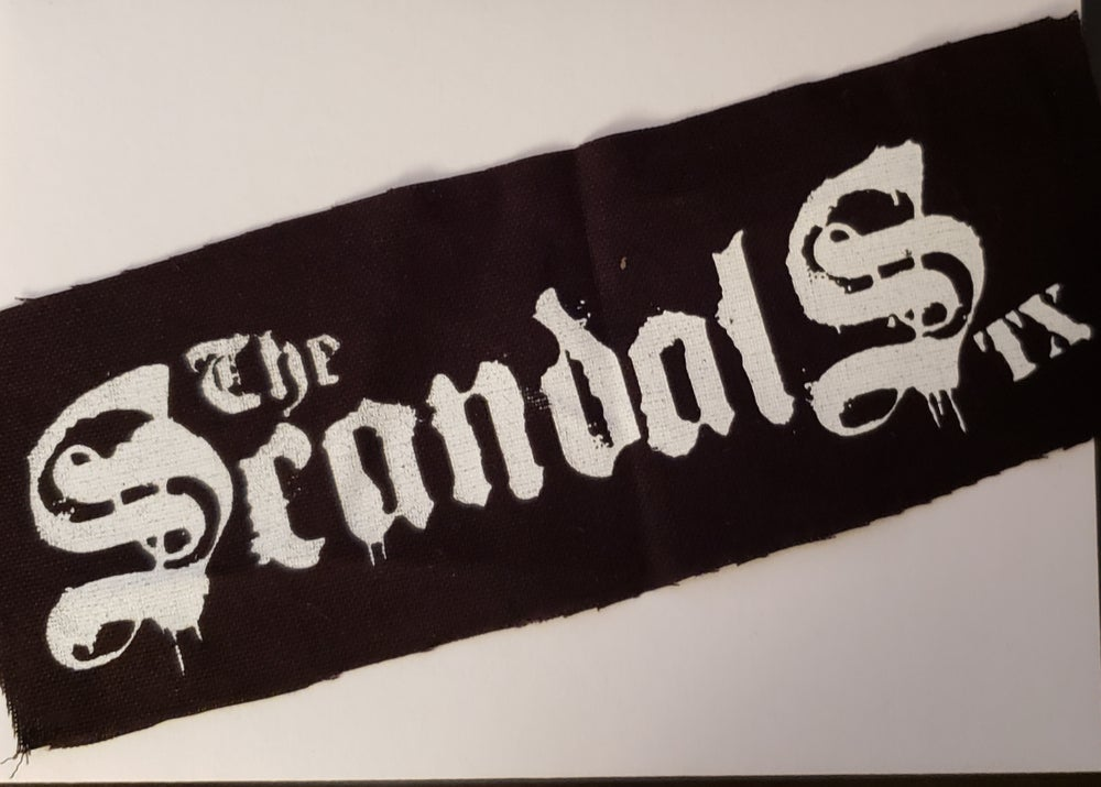 Image of The Scandals TX - Logo Patch Version 2 -DIY