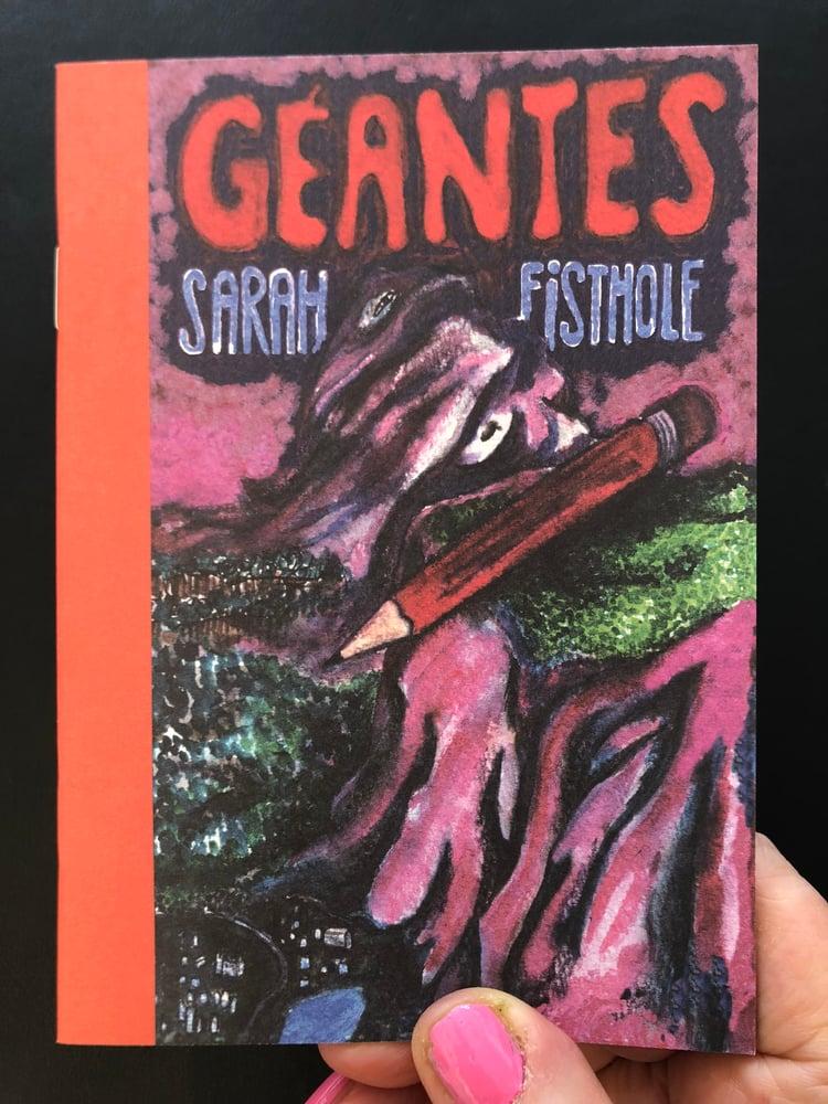 Image of Sarah Fisthole / Géantes