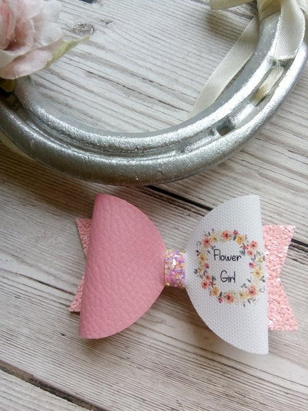 Image of Bridesmaid and flower girl bows