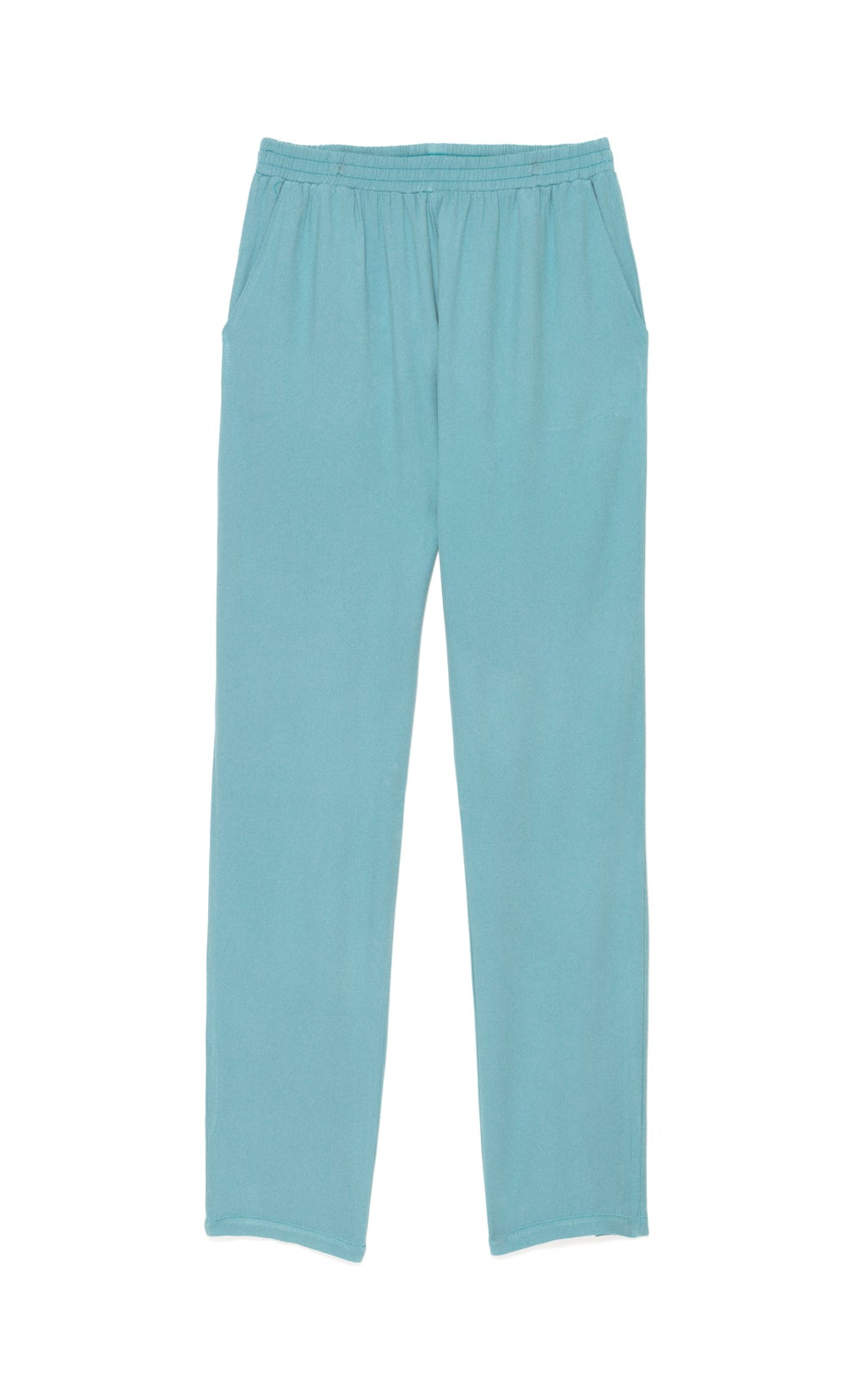 Image of Pantalon twill PENELOPE coloris pastels