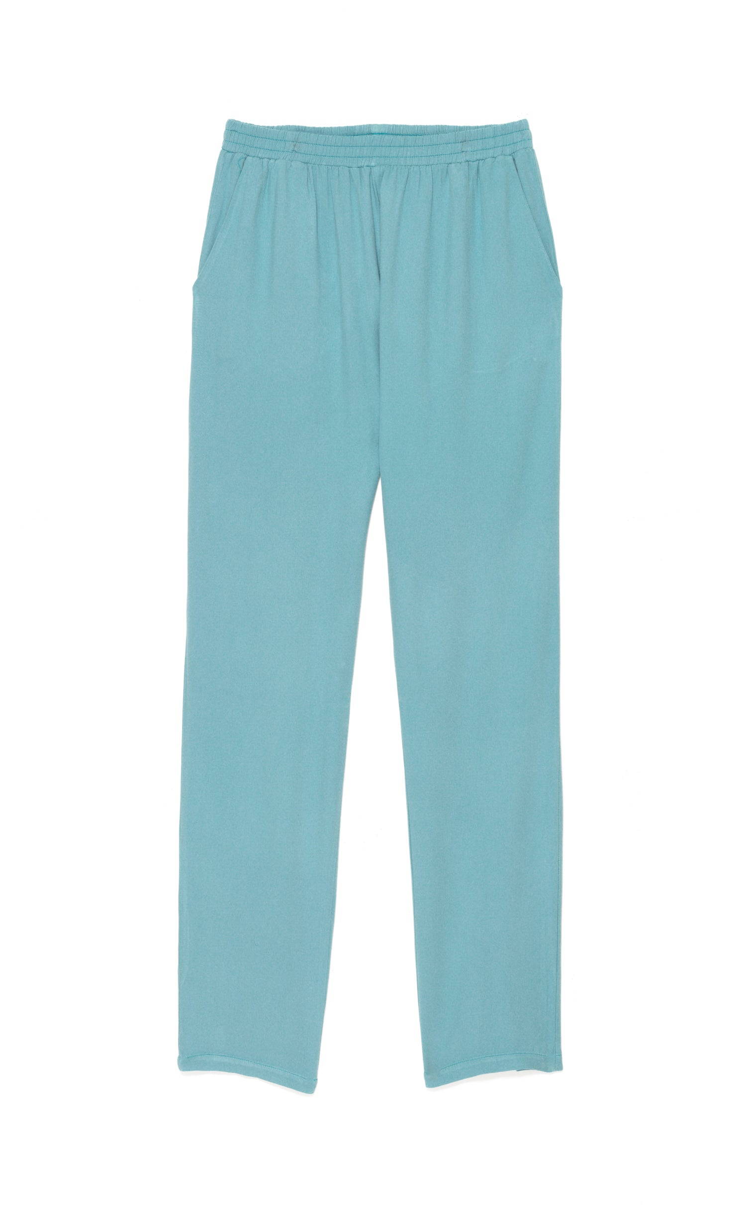 Image of Pantalon twill viscose PENELOPE coloris pastels