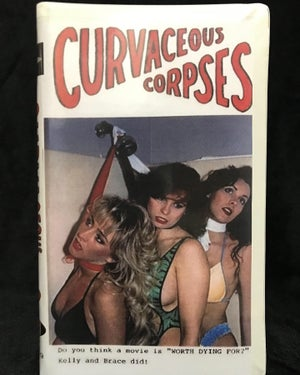 Image of Curvaceous Corpses VHS Limited Edition 1995 SOV Paul Knop