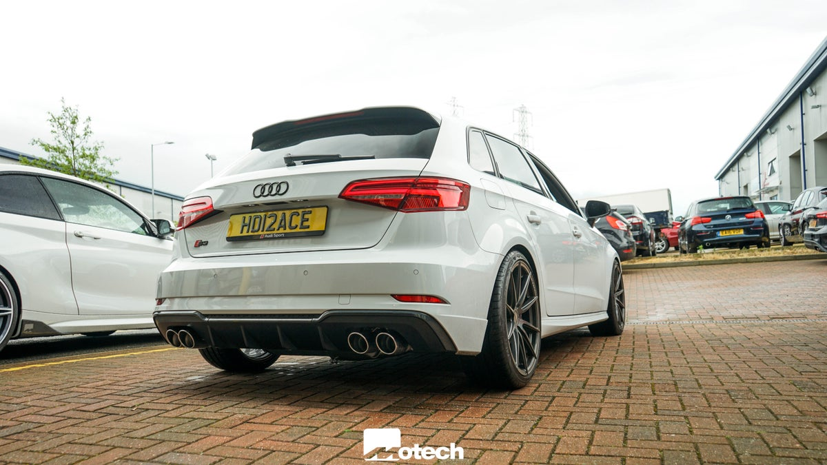 Image of Audi S3 8V Remus Exhaust Cat Back