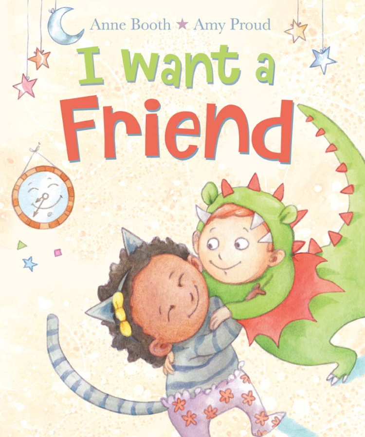 Image of I want a friend - SIGNED EDITION