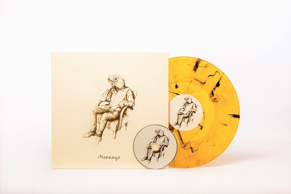 "Image of SOLD OUT / Mooneye / Mooneye EP (12"" Marbled Vinyl + CD)"