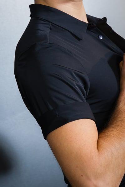 Image of Men's Stretch Short Sleeve Shirt E9436