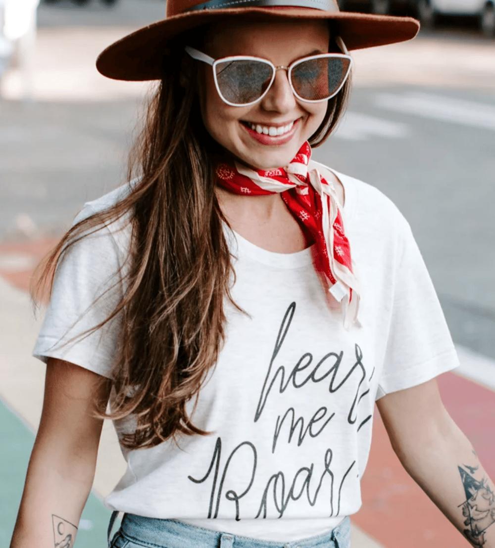 Image of Hear Me Roar T-shirt