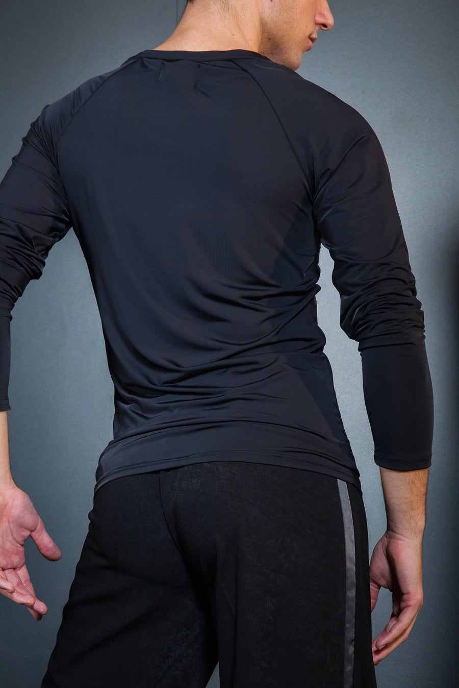 Image of Long Sleeve Bohemian Top (E8134/E1295) Dancewear latin ballroom