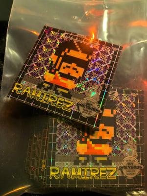 Image of Ramirez Retro Game Limited Edition Sticker