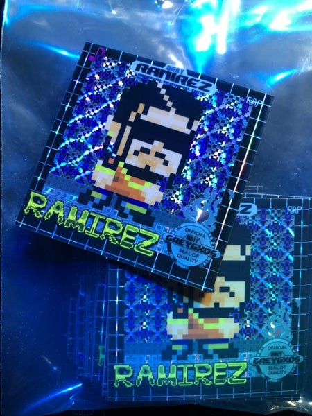 Image of Ramirez Retro Game Limited Edition Sticker