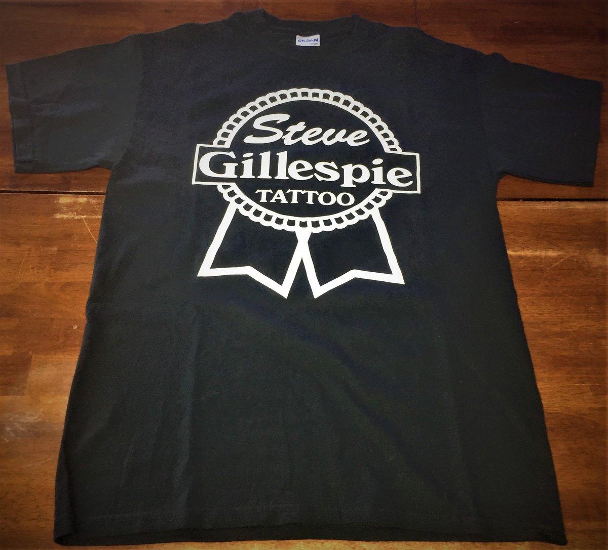 Image of Steve Gillespie Tattoo Shirt