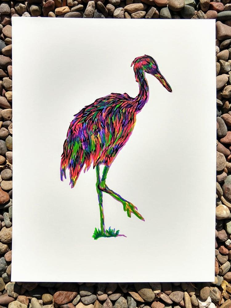 Image of Technicolor Crane