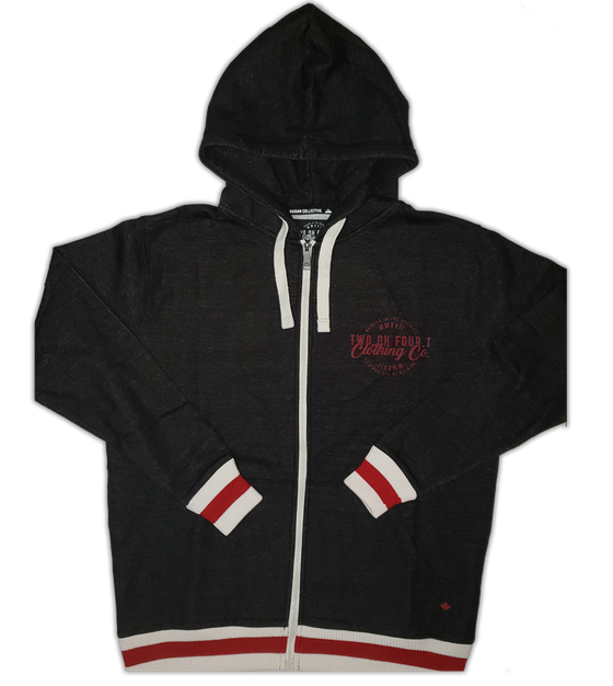 Image of Zip Up - Hockey Sock Hoody