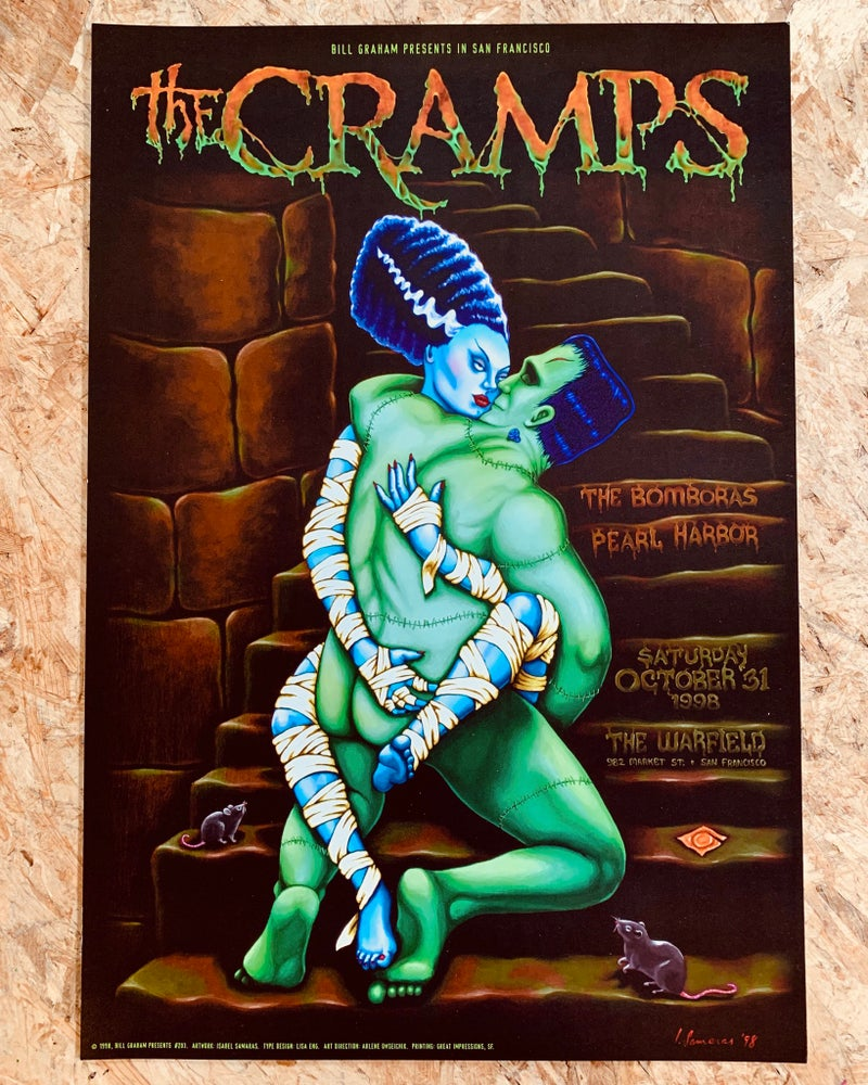 Image of Cramps poster
