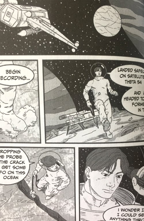 Image of Alien Encounters Comic