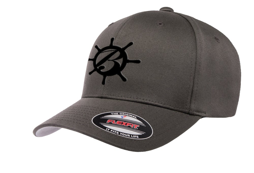 Image of Fitted BlackSails Hat - Gray