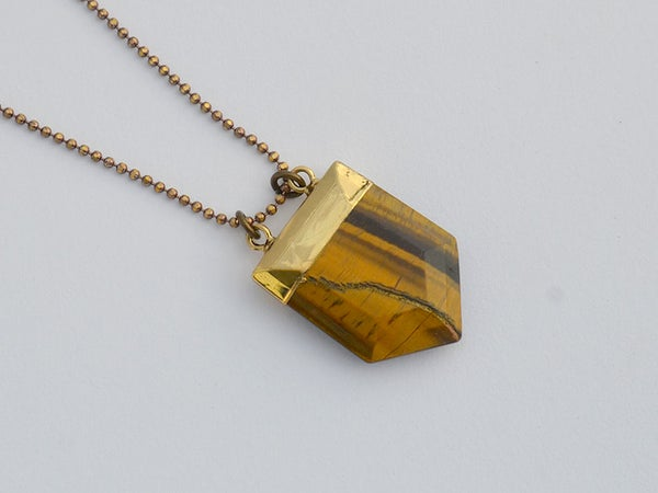 Image of tigers eye arrow