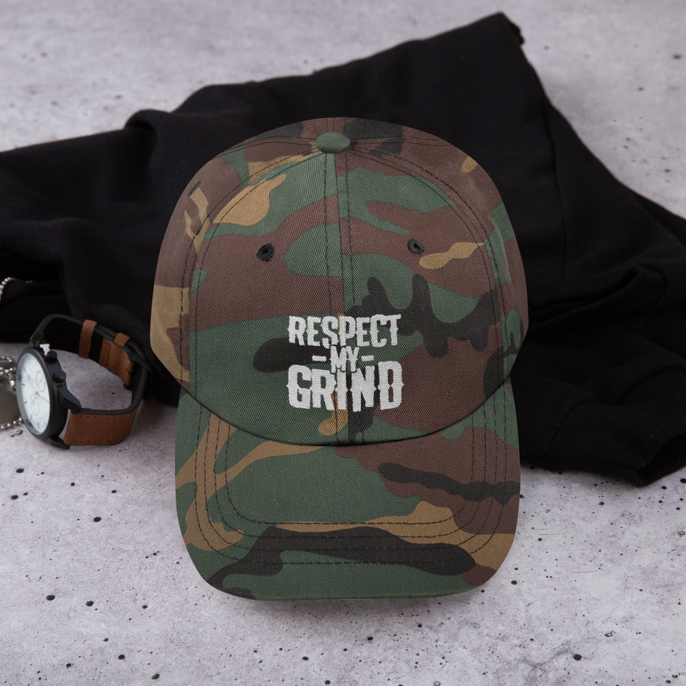Image of Respect My Grind Dad Hat