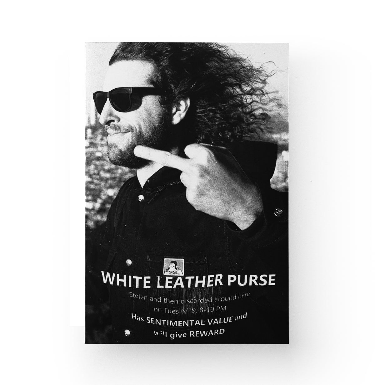 "Image of Che Hise-Gattone ""White Leather Purse"" Zine"