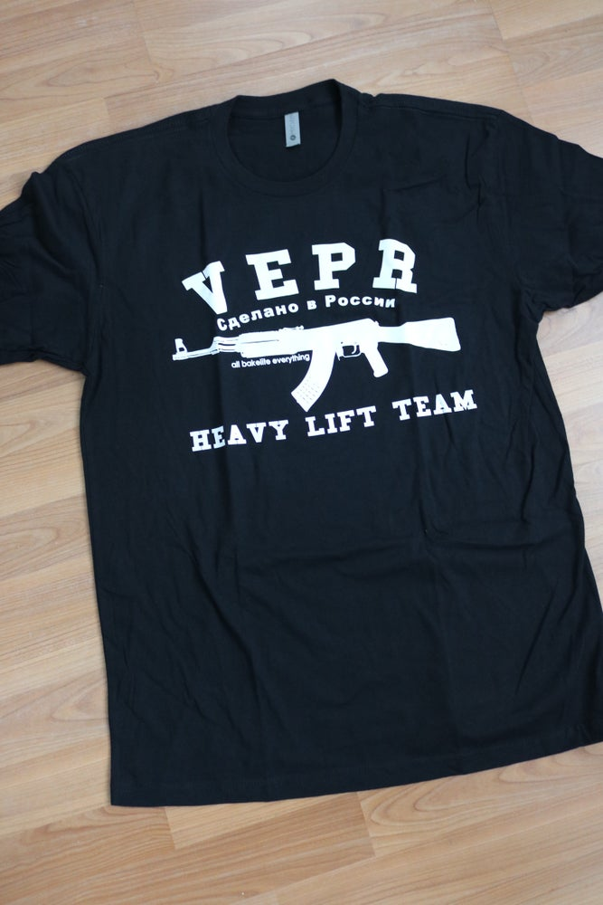 Image of Heavy Lift Team Shirt and Tank Top