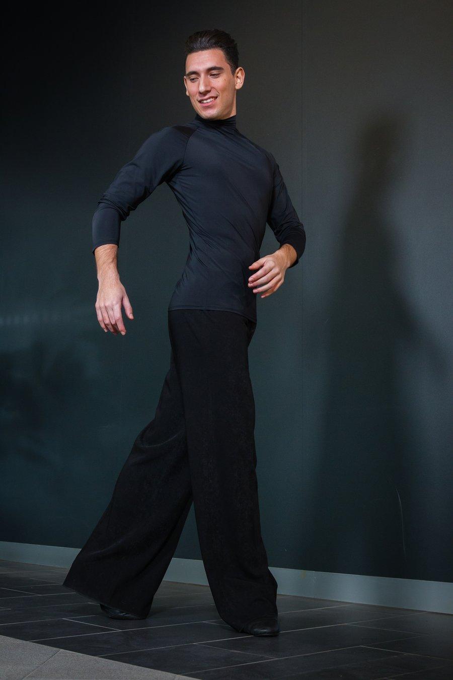 Image of Latin Pants B3564A Dancewear latin ballroom