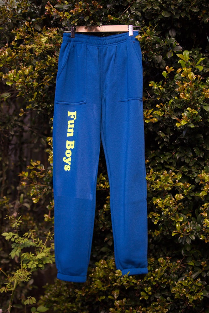"Image of ""Team Rider"" Trackpant Blue"