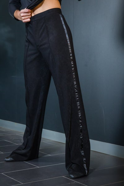 Image of Mens Latin Pants w/Satin (B12020)
