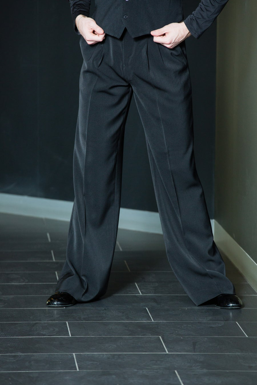 Image of B9435 Tailor Pants SALE Dancewear latin ballroom